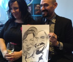 Grab One Corporate Caricature Event