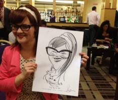 Hotel, Town, County – Wedding Caricatures