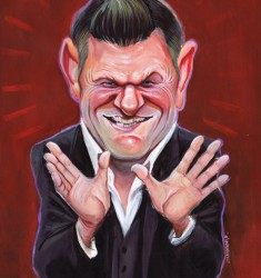 brendan o'connor caricature