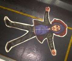 Dead Darren floor mat