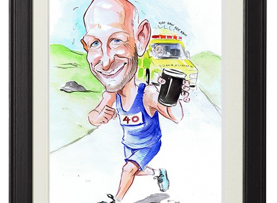 gift caricature ireland
