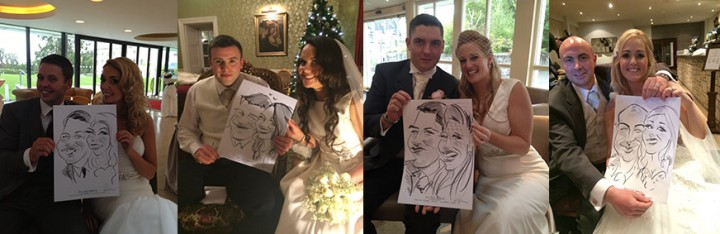 caricature wedding entertainment ireland