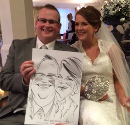 wedding caricature entertainment ireland