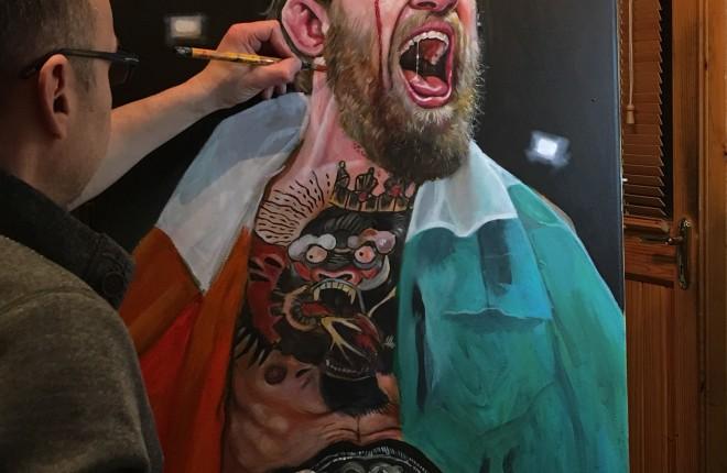WIP of Conor McGregor