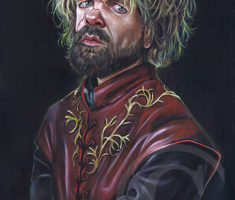 Tyrion Lannister painting Game Of Thrones