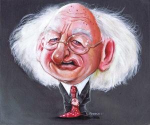michael-d-higgins-caricature