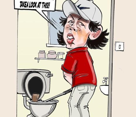 Rory McIIroy cartoon
