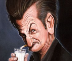 caricature sean penn