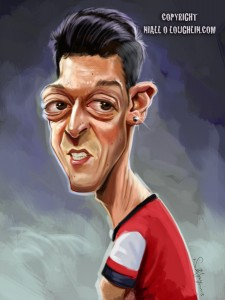 Mesut-Ozil-caricature