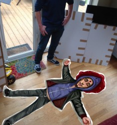 Dead Darren floor mat on the Daily edge.