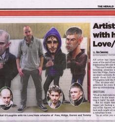 LOVE HATE evening Herald