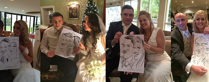 caricature wedding entertainment ireland