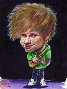 Ed-Sheeran-caricature