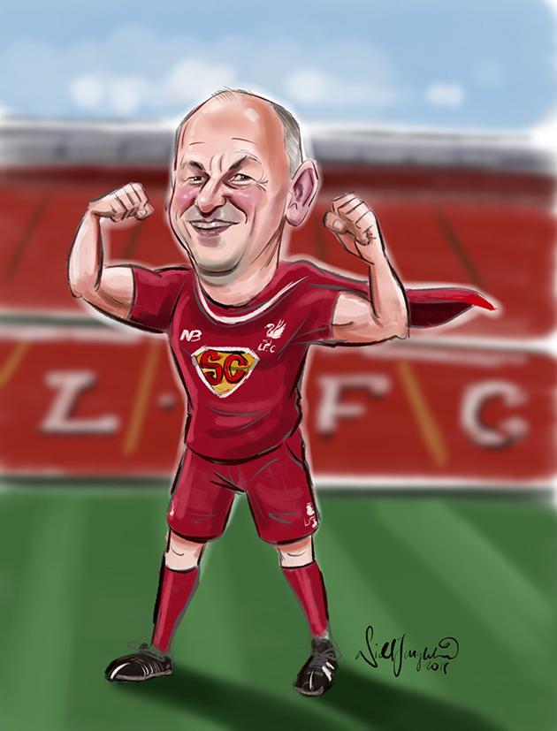 Sean Cox caricature