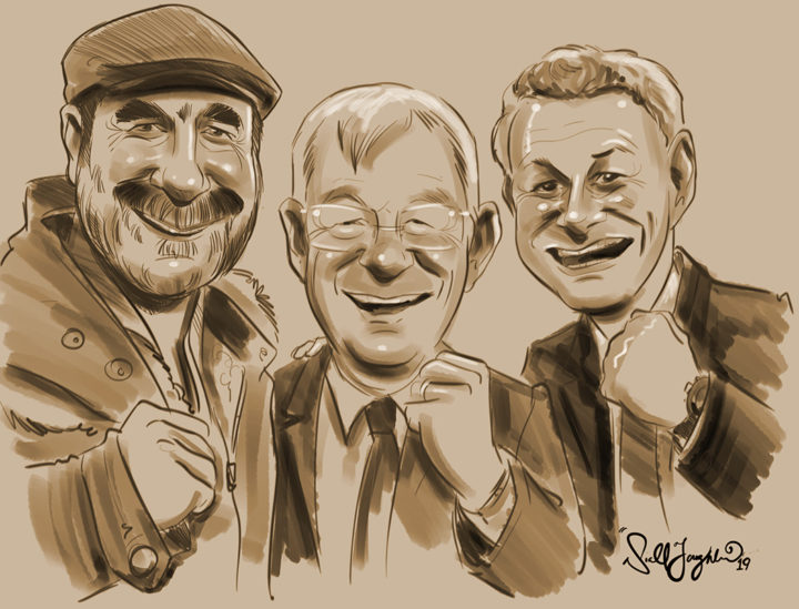 Manchester United caricatures