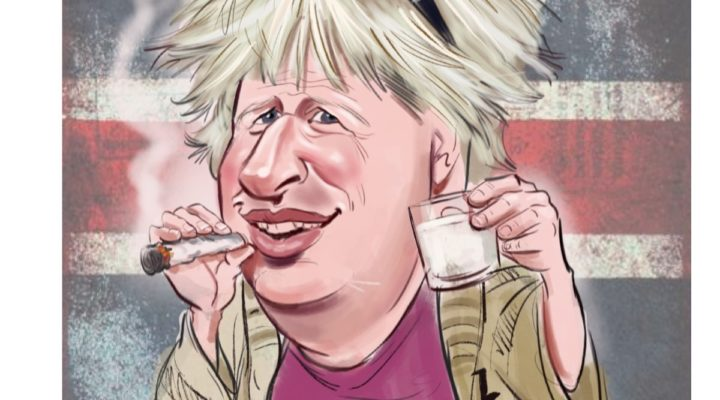 Boris Johnson cartoons