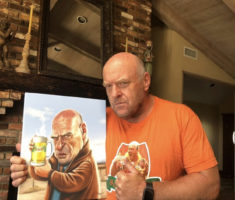Dean Norris aka Hank Breaking Bad