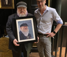 Game of Thrones writer Geroge RR Martin