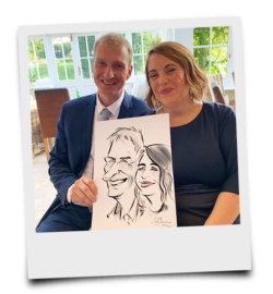 Wedding Day Entertainment with Ireland's No.1 Caricaturist
